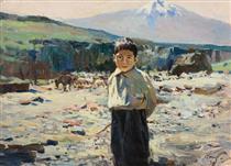 Ashtarak. On the pasture - Dmitry Nalbandyan