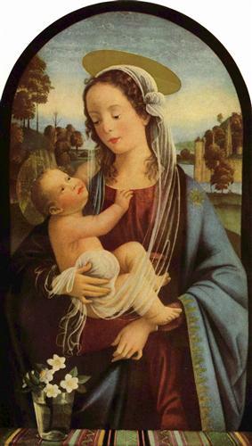 Madonna - Domenico Ghirlandaio