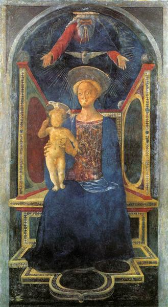 Madonna and Child, c.1435 - Domenico Veneziano