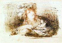 Mulher com turbante - Domingos de Sequeira
