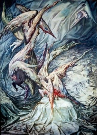 Guardian Angels, 1946 - Dorothea Tanning