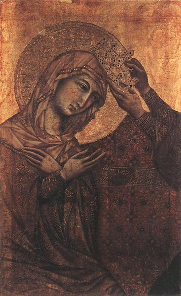 Coronation of the Virgin, 1308 - 1311 - Duccio
