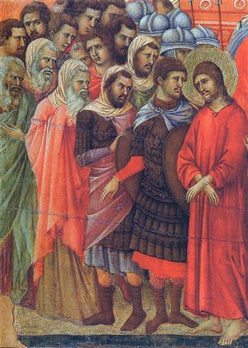 Pilate washes his hands - Duccio