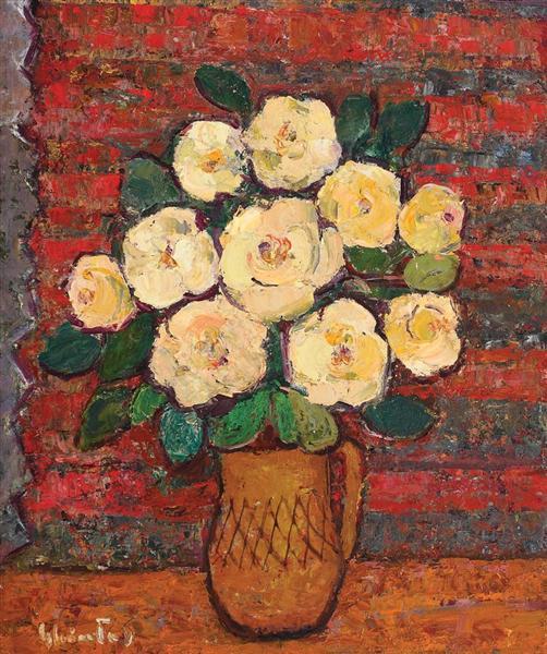 Mug With Roses - Dumitru Ghiatza