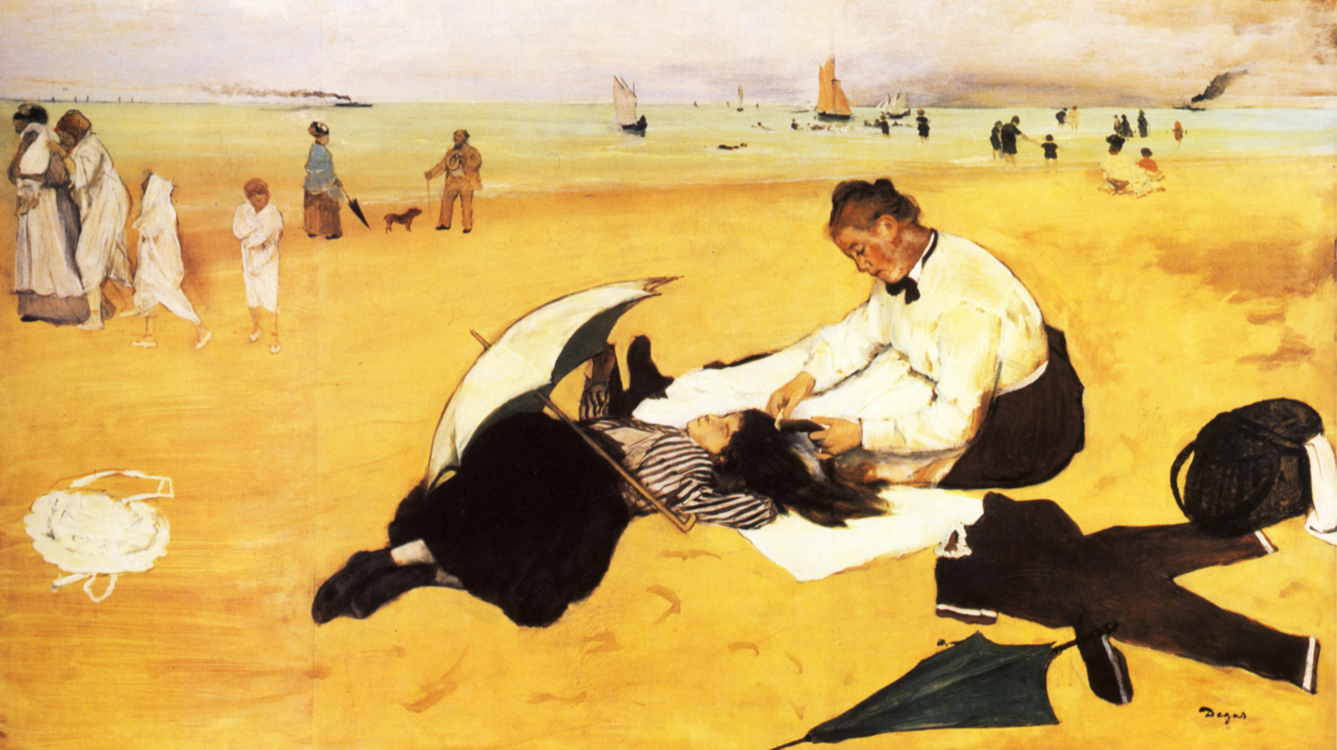 Image result for the beach degas