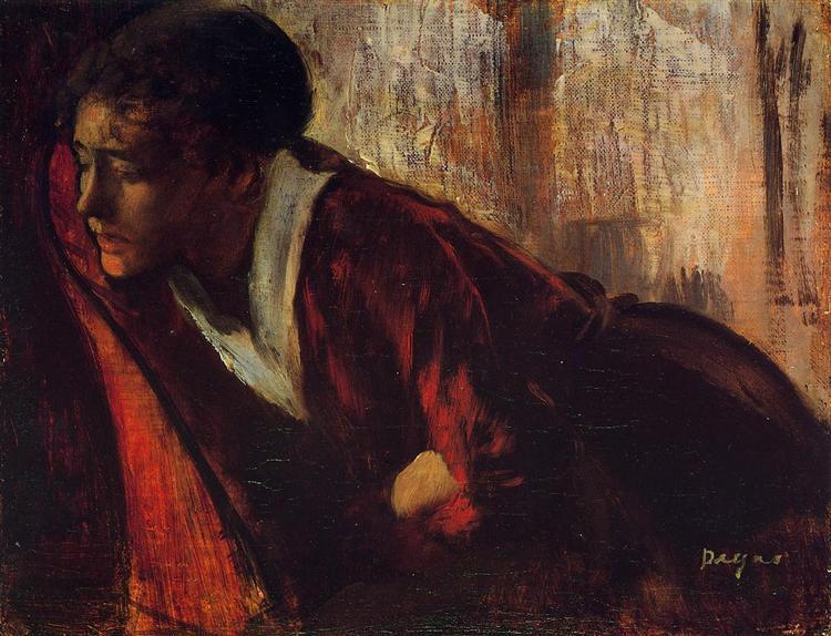 Melancholy, 1874 - Edgar Degas