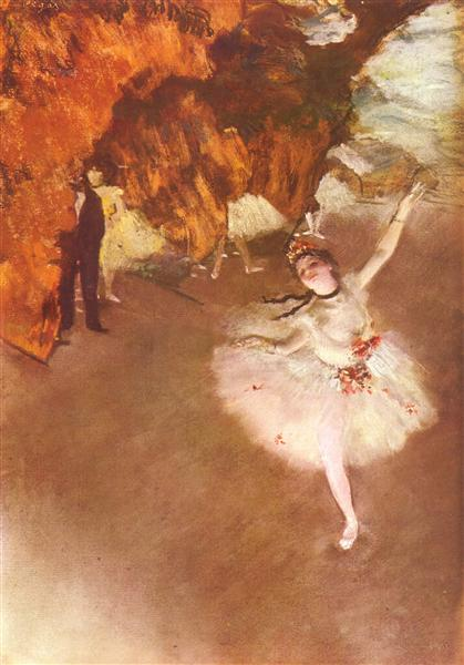 The Star (Dancer on Stage), c.1878 - Edgar Degas