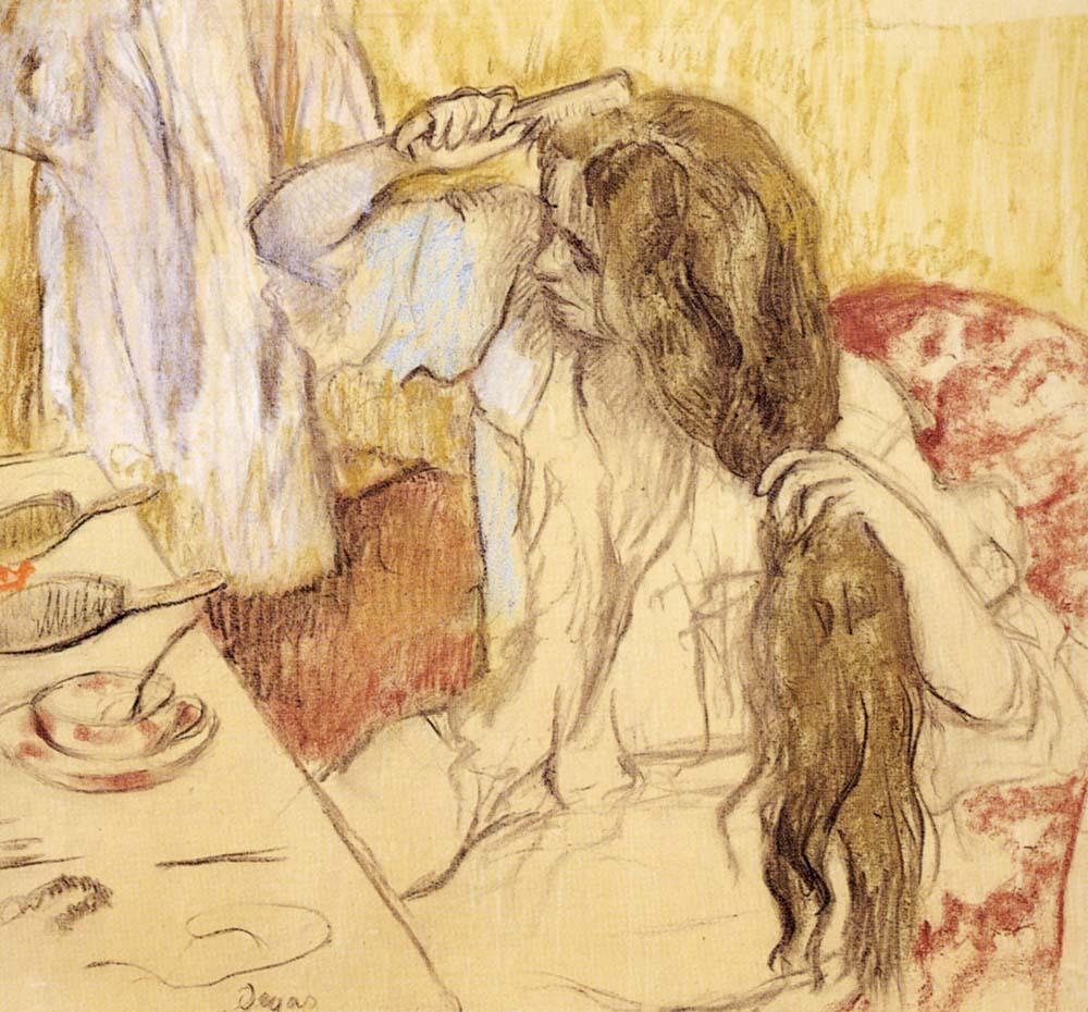 DRAWING AT DUKE: Degas - Emily Schon