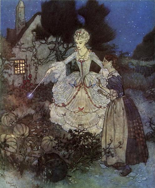 Cinderella - from the Picture Book for the Red Cross - Edmund Dulac
