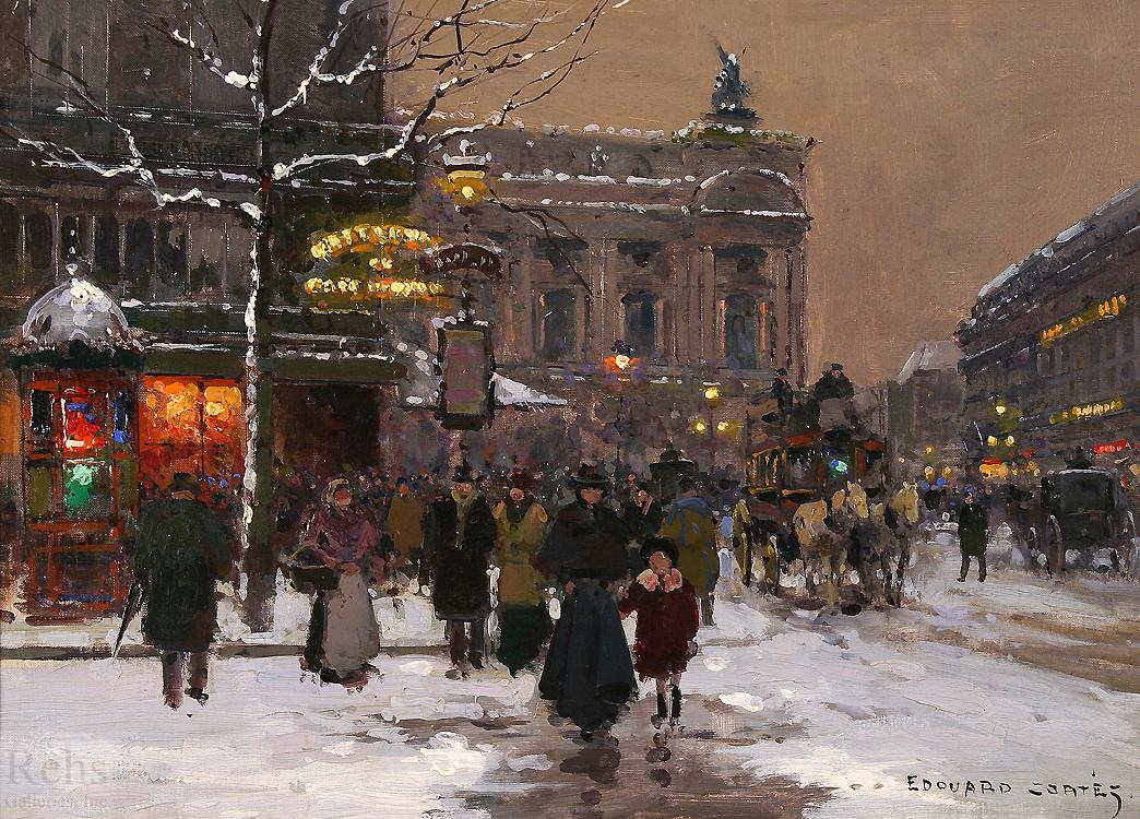 Caf de la paix paris edouard cortes encyclopedia of visual arts - Camif paris ...