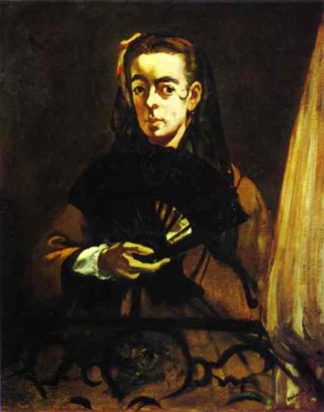 Angelina, 1865 - Edouard Manet