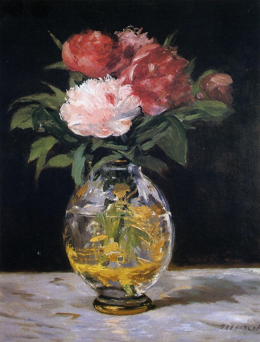 bouquet of flowers 1882 edouard manet wikiart org