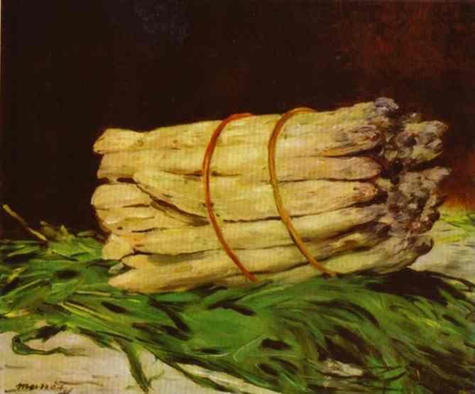 Bundle of Asparagus, 1880 - Edouard Manet