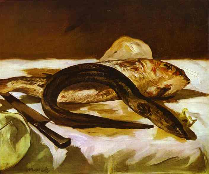 Eel and Red Mullet, 1864 - Edouard Manet