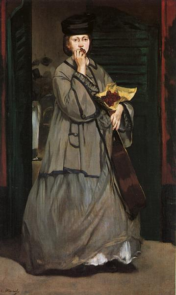 Street Singer, c.1862 - Edouard Manet