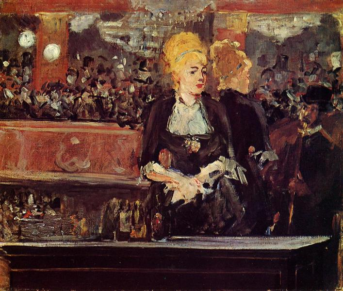 "Study for ""Bar at the Folies-Bergere"", 1882 - Edouard Manet"