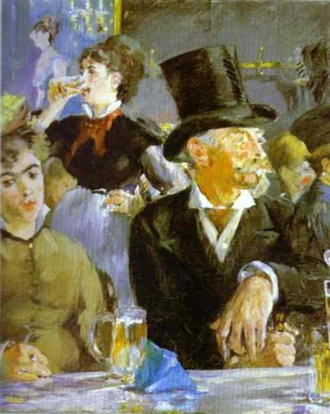 The Bock Drinkers, 1878 - Edouard Manet