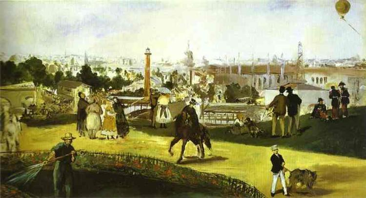 The Exposition Universelle, 1867 - Edouard Manet