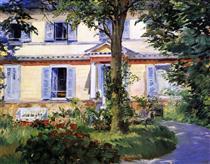 La casa di Rueil - Edouard Manet