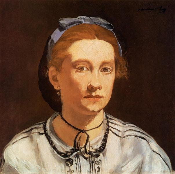 Victorine Meurent, 1862 - Edouard Manet