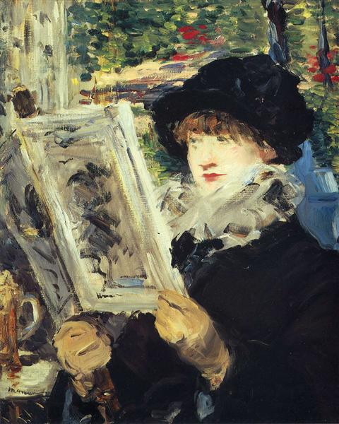 Woman Reading, 1879 - Edouard Manet