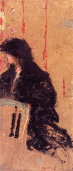 A Somber Dress, 1905 - 1907 - Edouard Vuillard