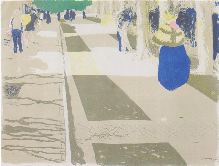TheAvenue, 1899 - Edouard Vuillard