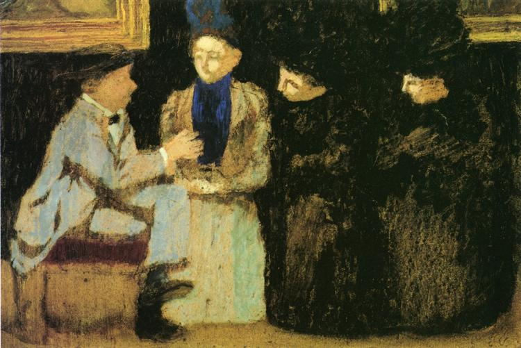 The Discussion, 1897 - 1899 - Эдуар Вюйар