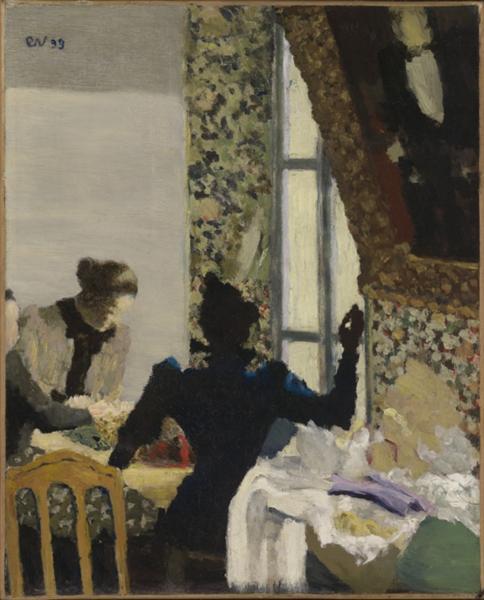 The Thread - Edouard Vuillard