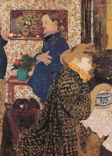 Valloton and Misia in the Dining Room at Rue Saint-Florentin, 1899 - Edouard Vuillard