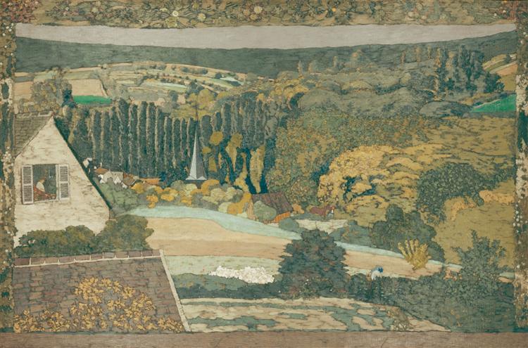 Window overlooking the Woods, 1899 - Edouard Vuillard
