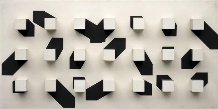 Oscilações do Claro Escuro I, 1967 - Eduardo Nery