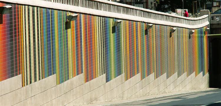 Viaduto da Av. Infante Santo, 2001 - Eduardo Nery