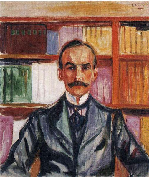 Harry Graf Kessler, 1904 - Edvard Munch