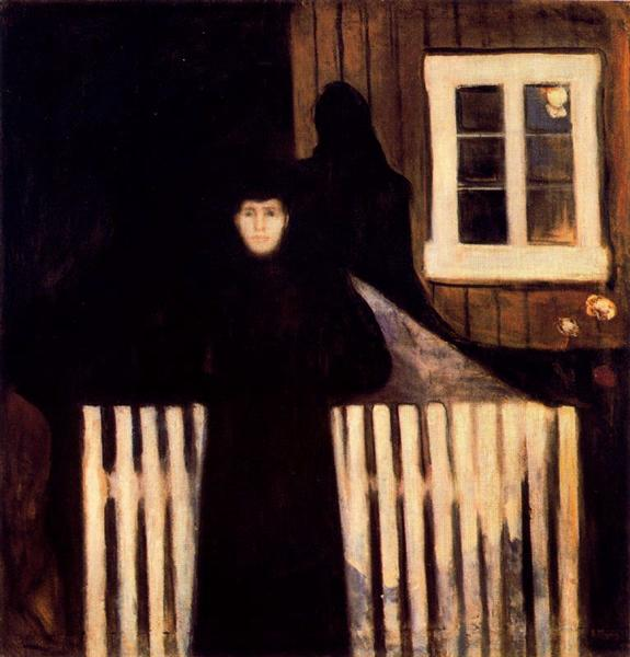 Moonlight, 1893 - Edvard Munch