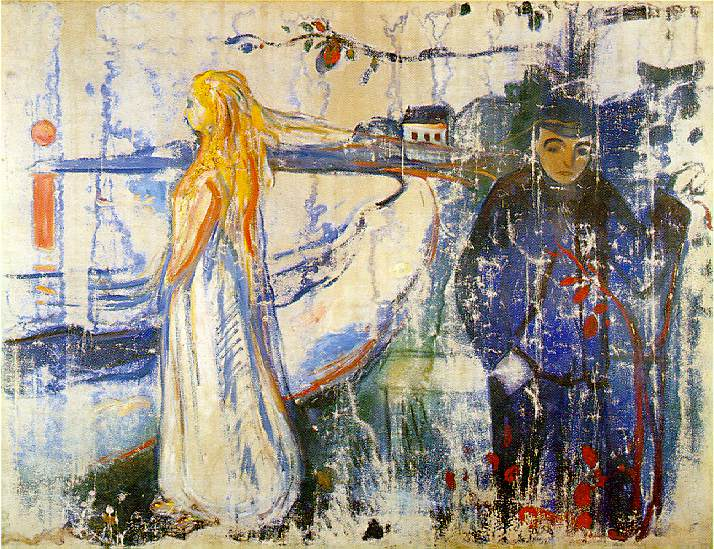 Separation, 1894 - Edvard Munch