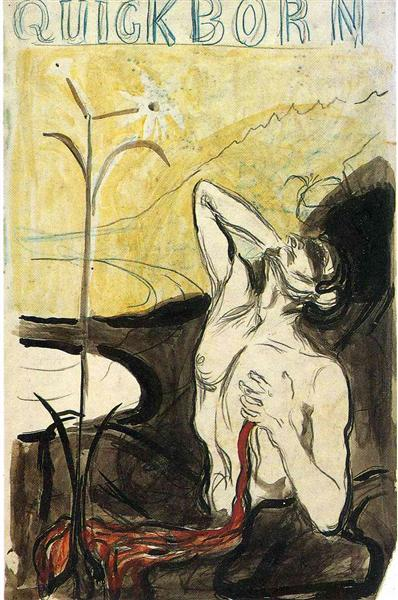 The Flower of Pain, 1897 - Edvard Munch