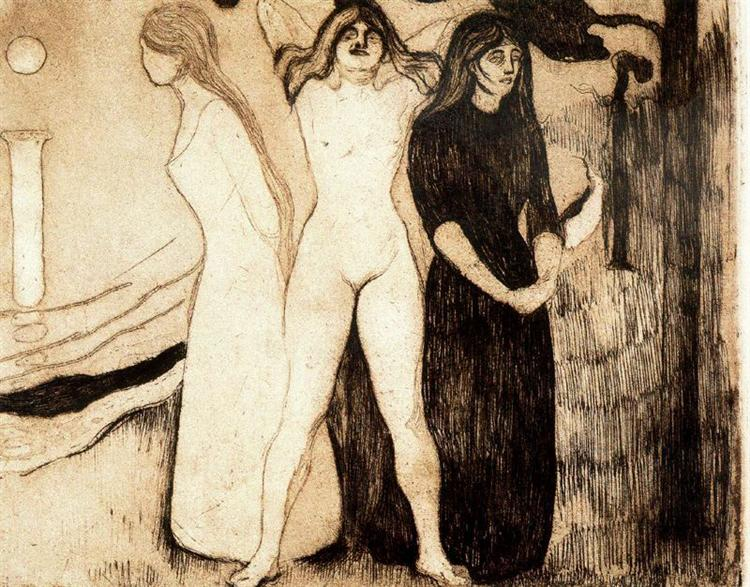 The Women, 1895 - Edvard Munch
