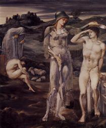 The Calling of Perseus - Edward Burne-Jones