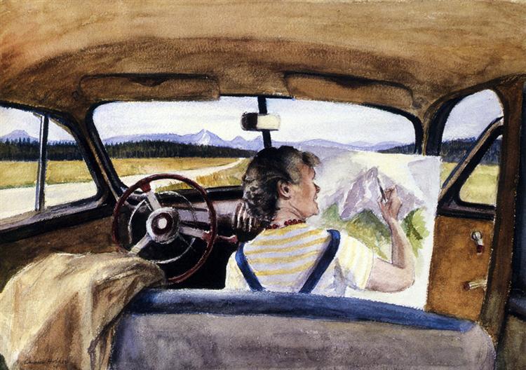 Jo In Wyoming, 1946 - Edward Hopper