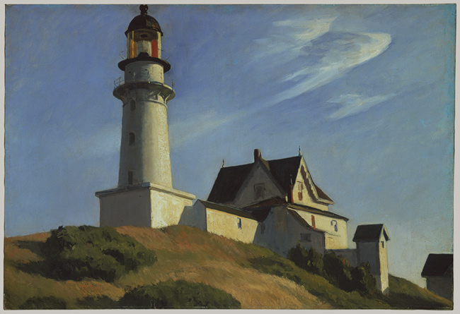 Lighthouse at Two Lights, 1929 - Edward Hopper