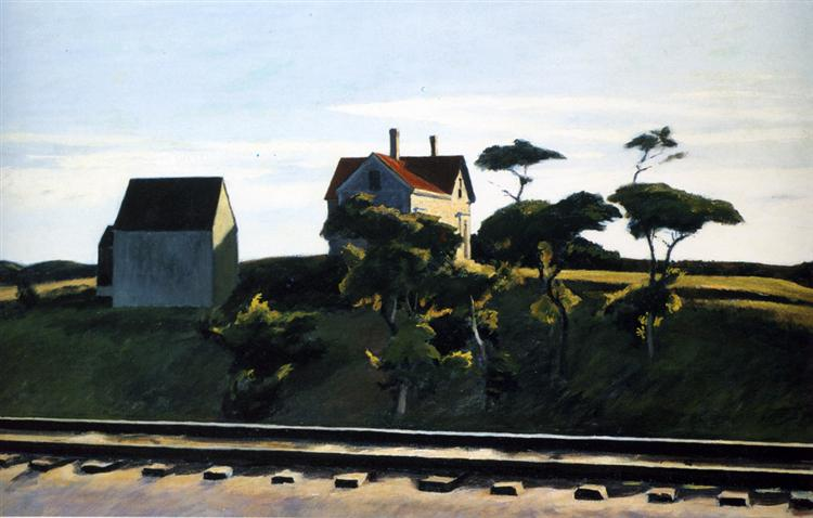 New York, New Haven and Hartford, 1931 - Edward Hopper