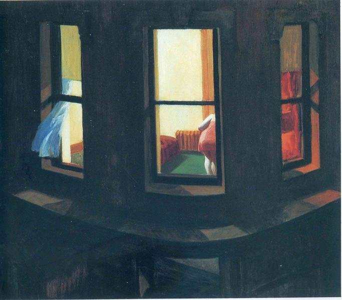 Night Windows, 1928 - Edward Hopper
