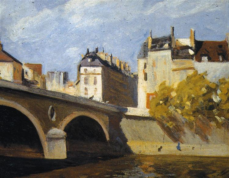 Bridge on the Seine, 1909 - Edward Hopper