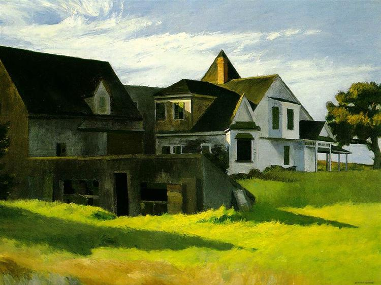 Cape Cod Afternoon, 1936 - Edward Hopper
