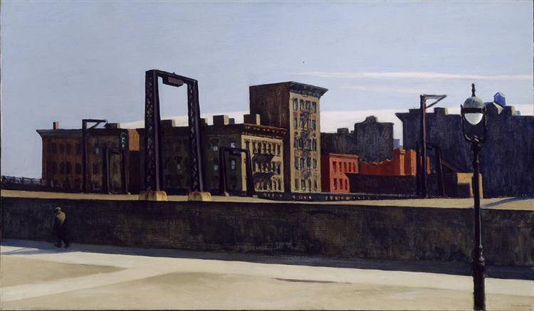 Manhattan Bridge Loop, 1928 - Edward Hopper
