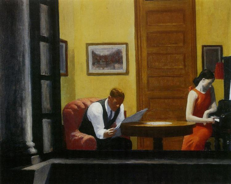 Room in New York, 1940 - Edward Hopper