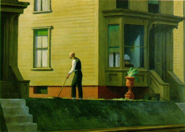 Pennsylvania coal town, 1947 - Edward Hopper