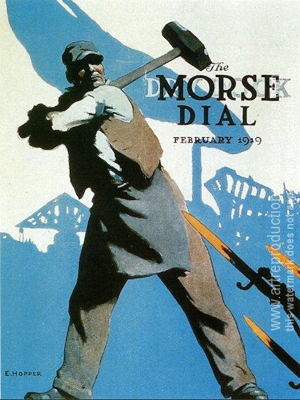 Prizewinning World War I patriotic poster, 1919 - Edward Hopper