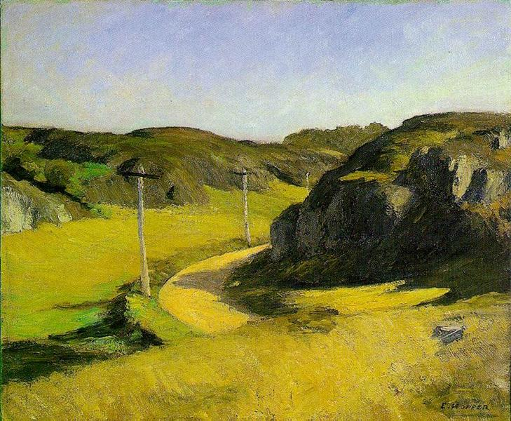 Road in Maine, 1914 - Edward Hopper